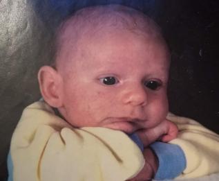 La plus vieille photo de moi que j'ai vu!